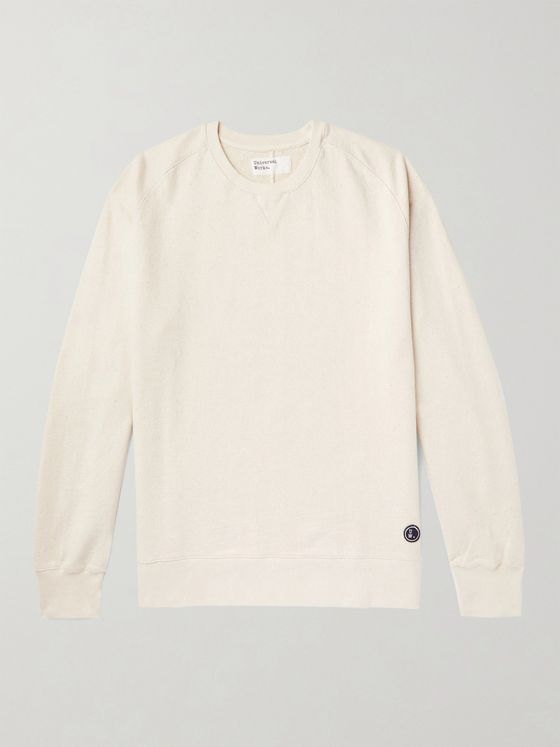 Universal Works Loopback Cotton-Jersey Sweatshirt