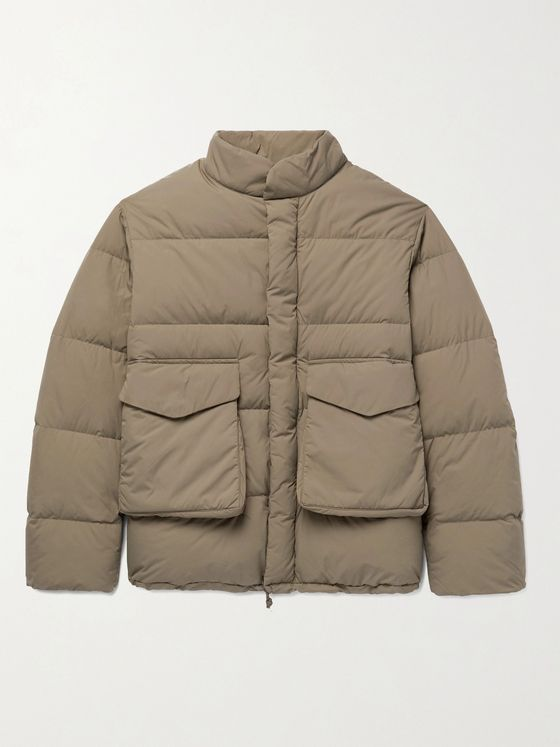 Snow Peak Quilted Ripstop-Shell Down Jacket