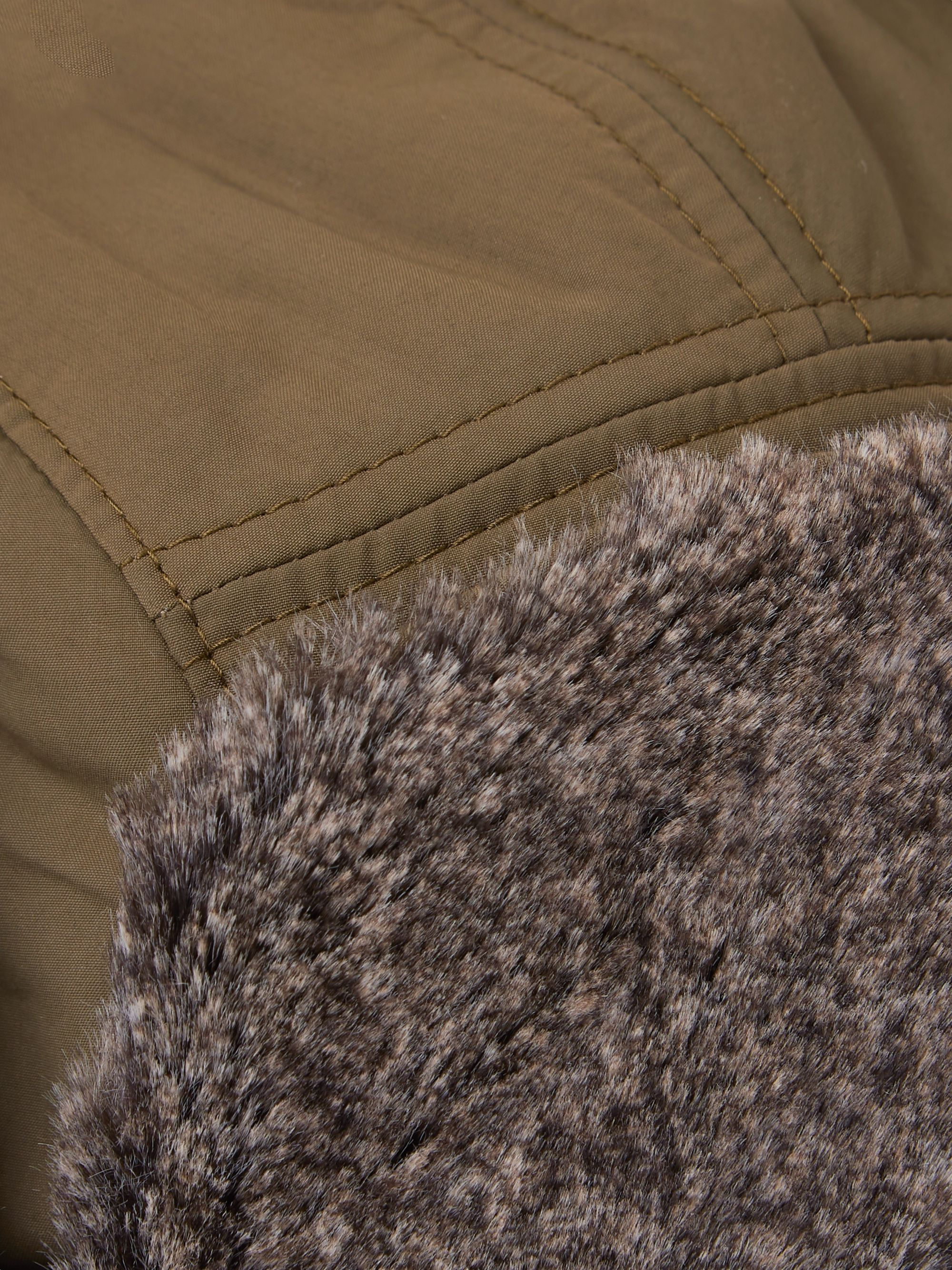 Snow Peak CO Typewriter Faux Shearling-Trimmed Nylon Trapper Hat