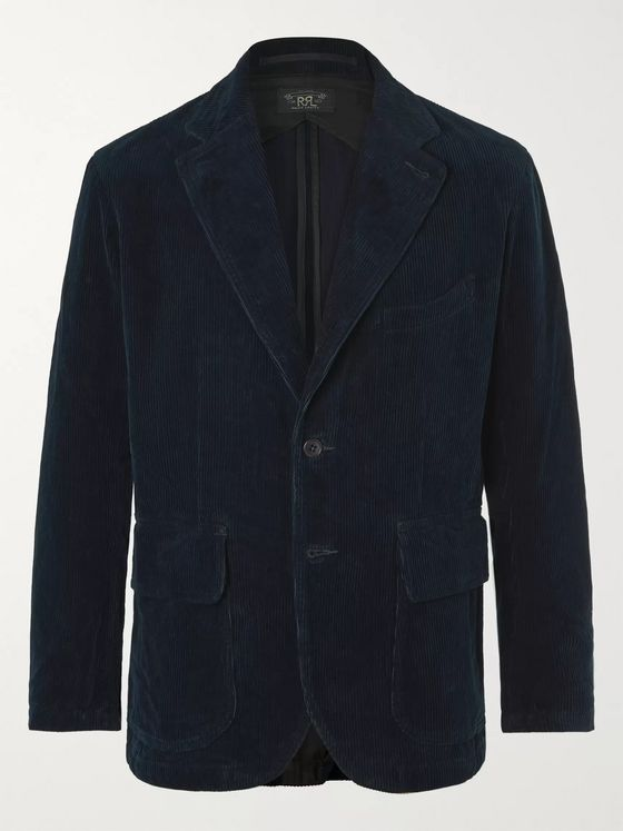 RRL Wakelin Unstructured Cotton-Corduroy Blazer