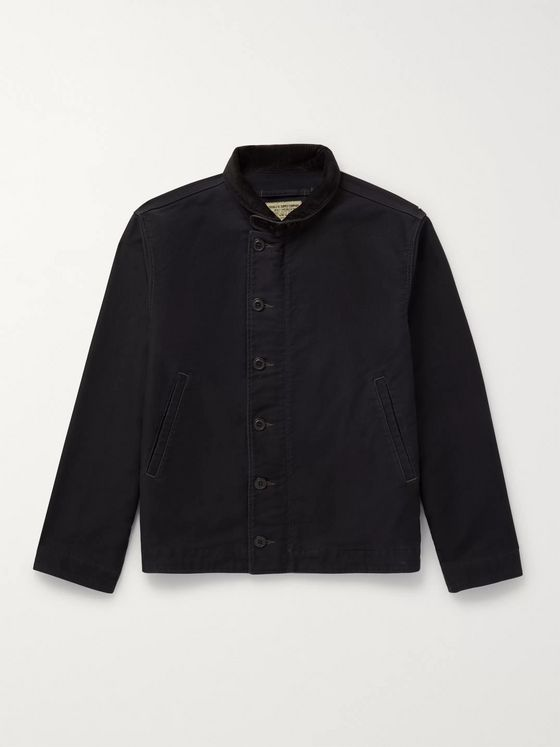 RRL Bower Deck Cotton-Corduroy Jacket