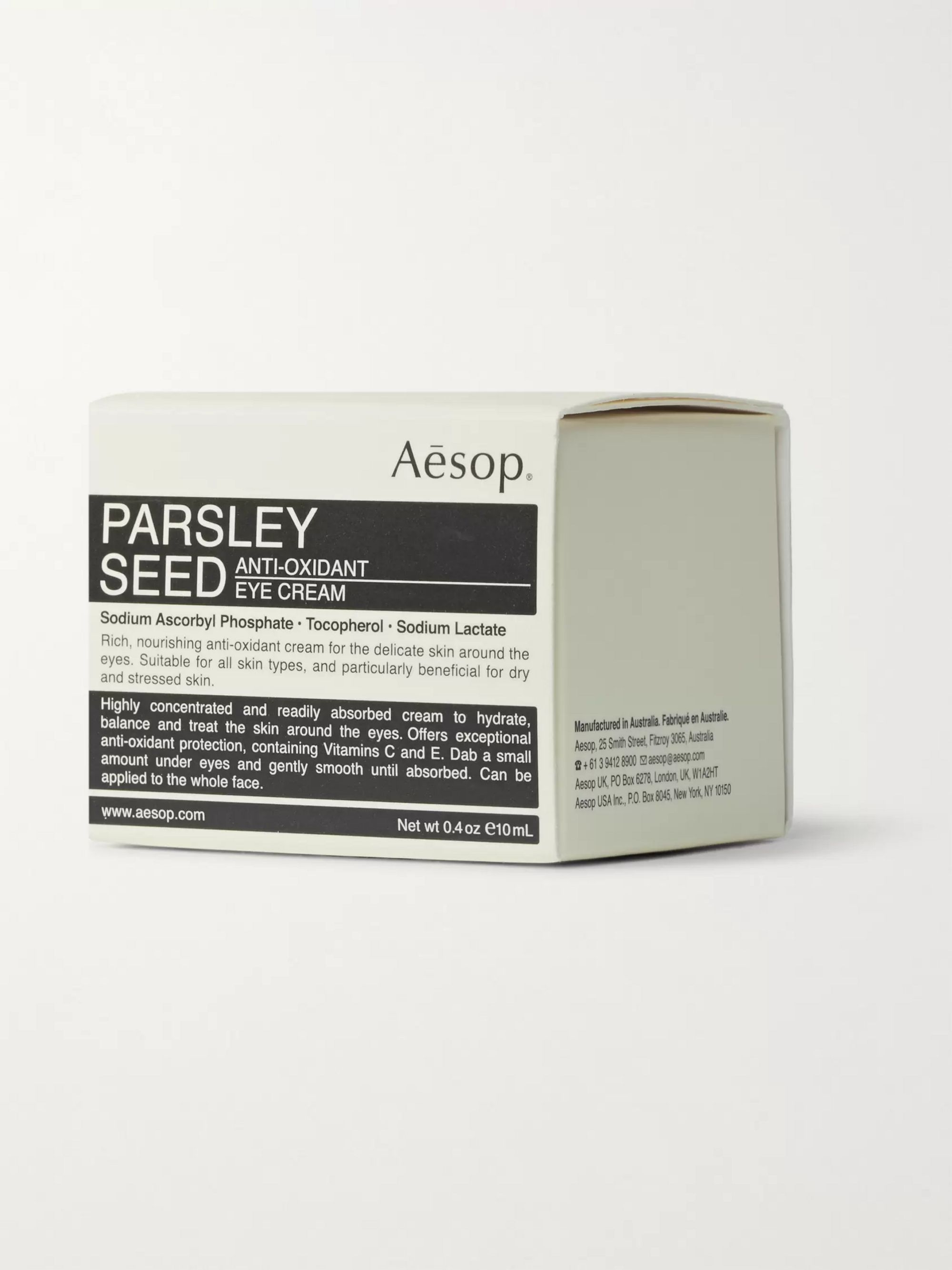 AESOP Parsley Seed Anti-Oxidant Eye Cream, 10ml