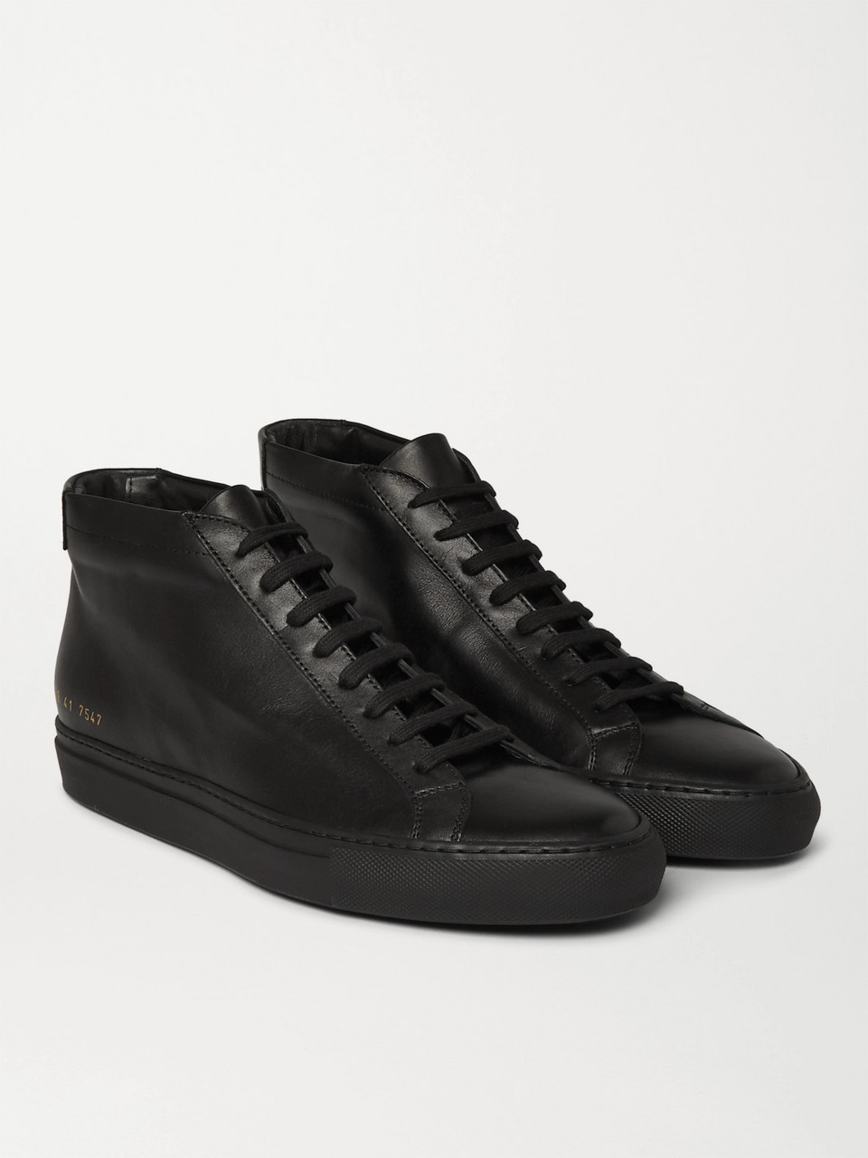 Common Projects Original Achilles Leather High-Top Sneakers
