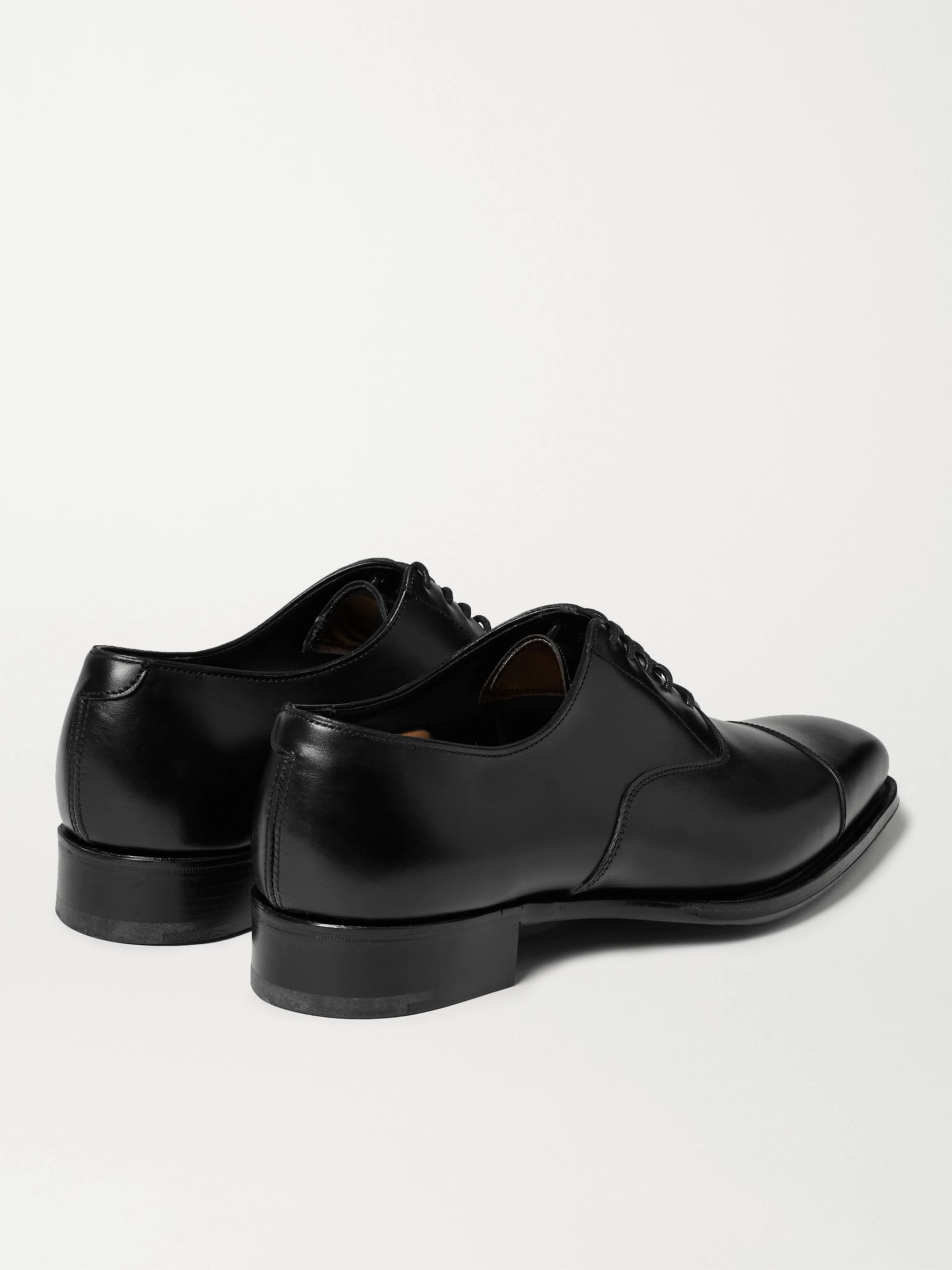 Kingsman + George Cleverley Leather Oxford Shoes