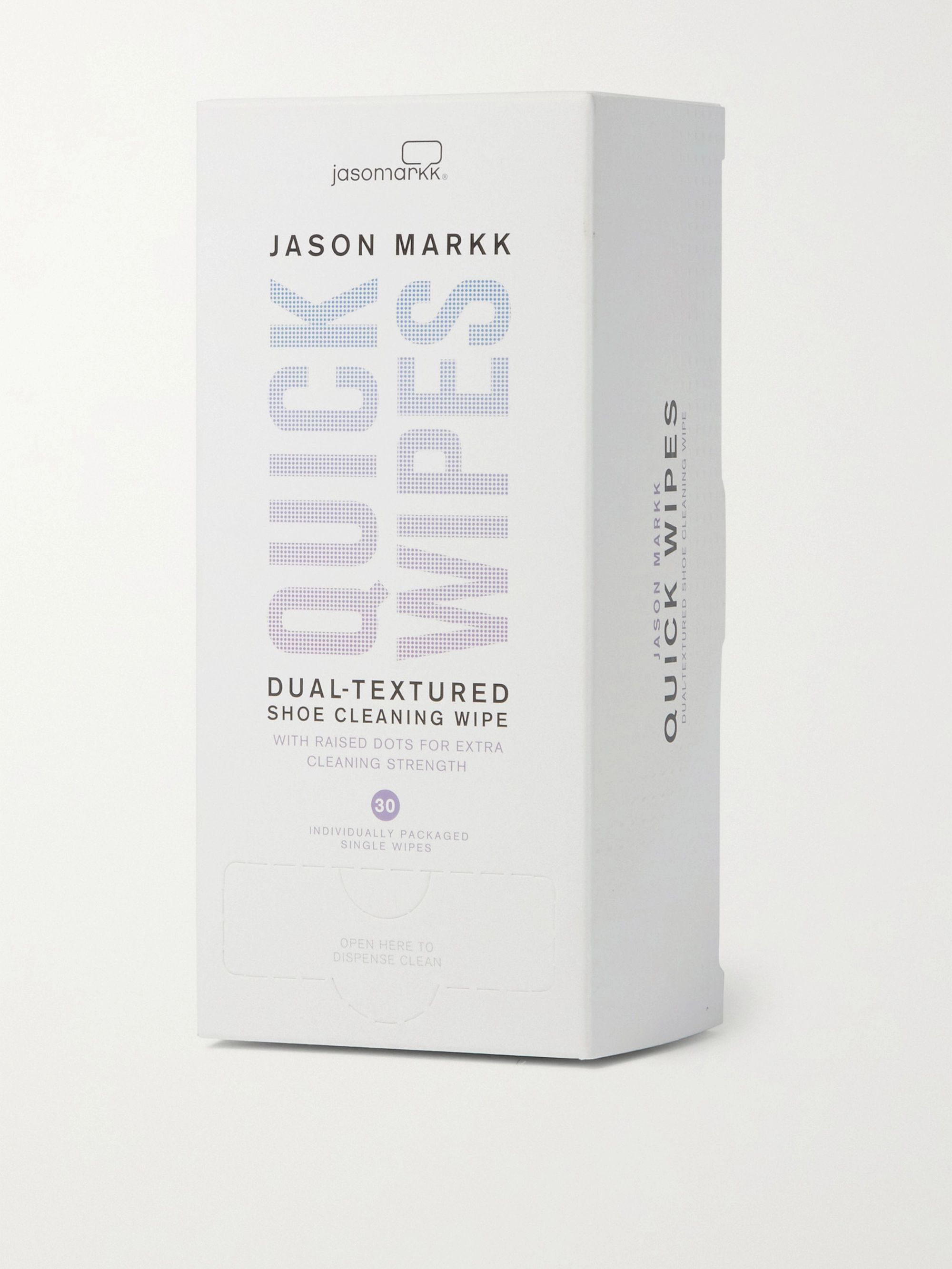 Jason Markk Quick Wipes, 30 Sheets