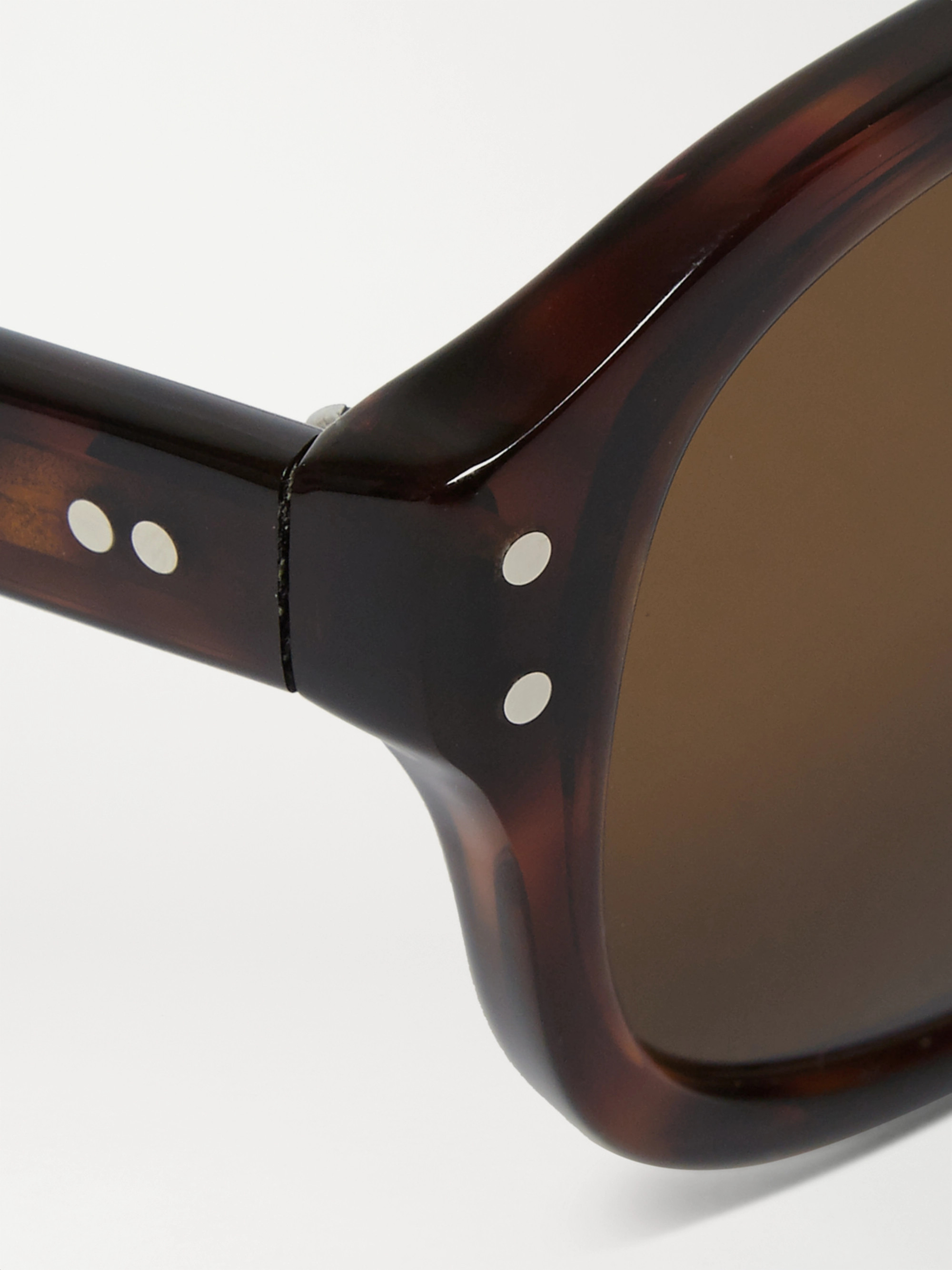 Kingsman + Cutler and Gross Square-Frame Tortoiseshell Acetate Sunglasses