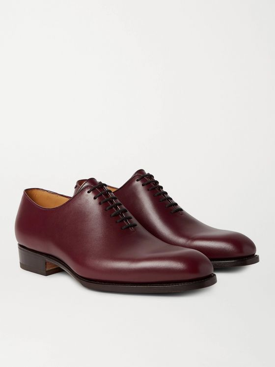 J.M. Weston 404 Claridge Whole-Cut Leather Oxford Shoes