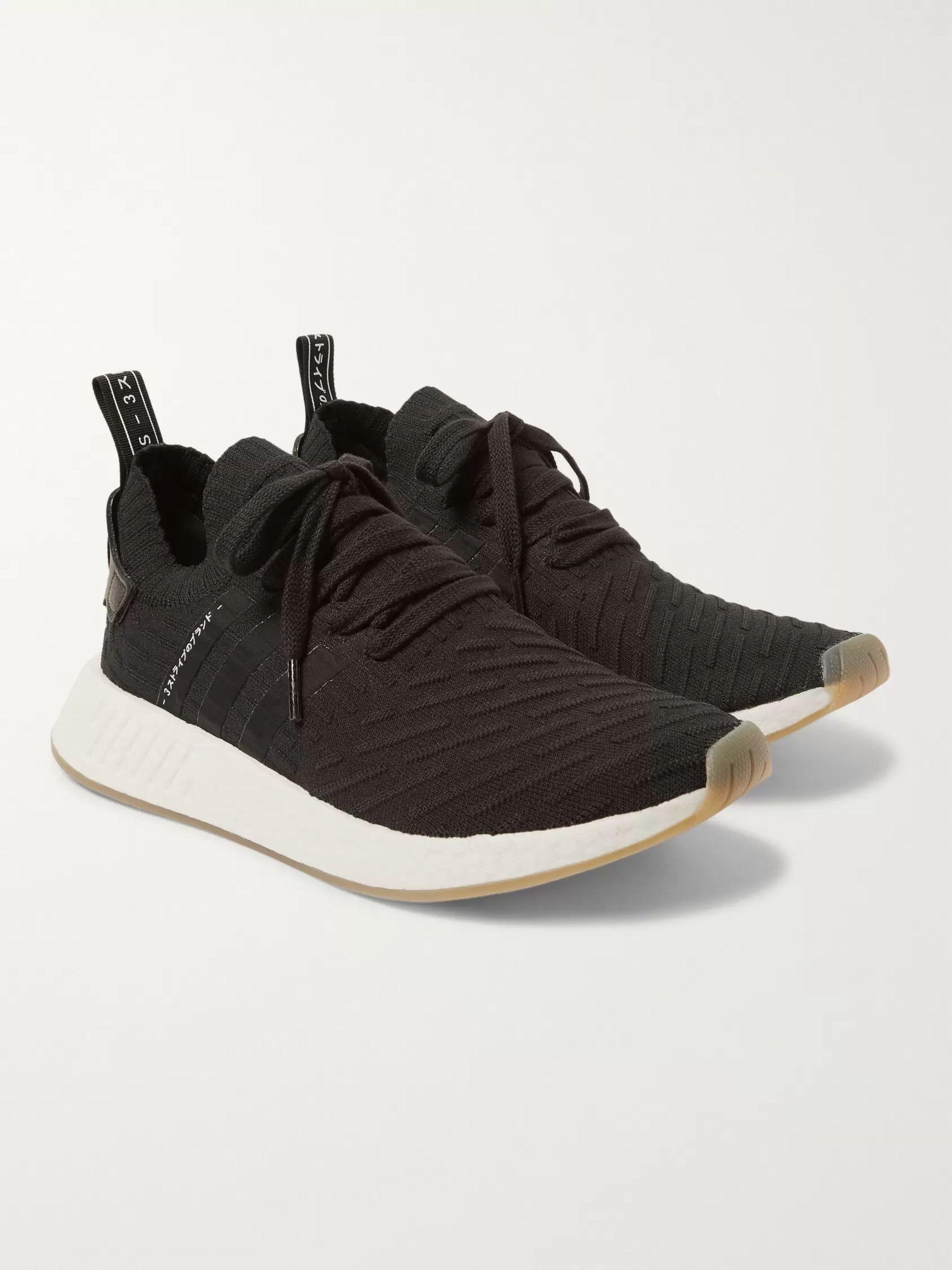 Sneaker NMD R2 PRIMEKNIT von adidas Originals BEIGE Herren