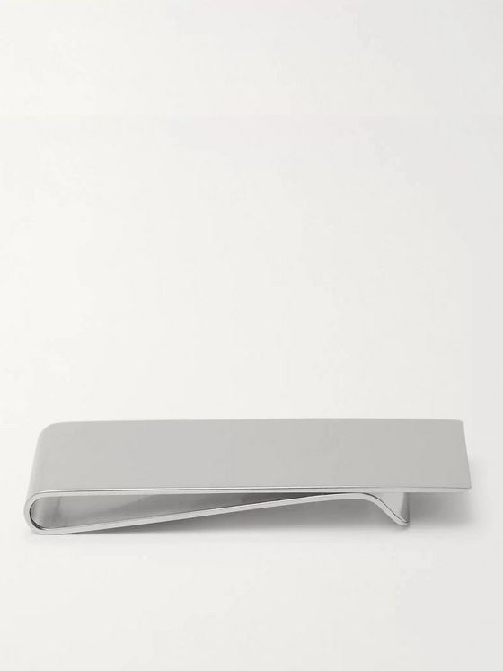 MULBERRY Silver-Tone Money Clip