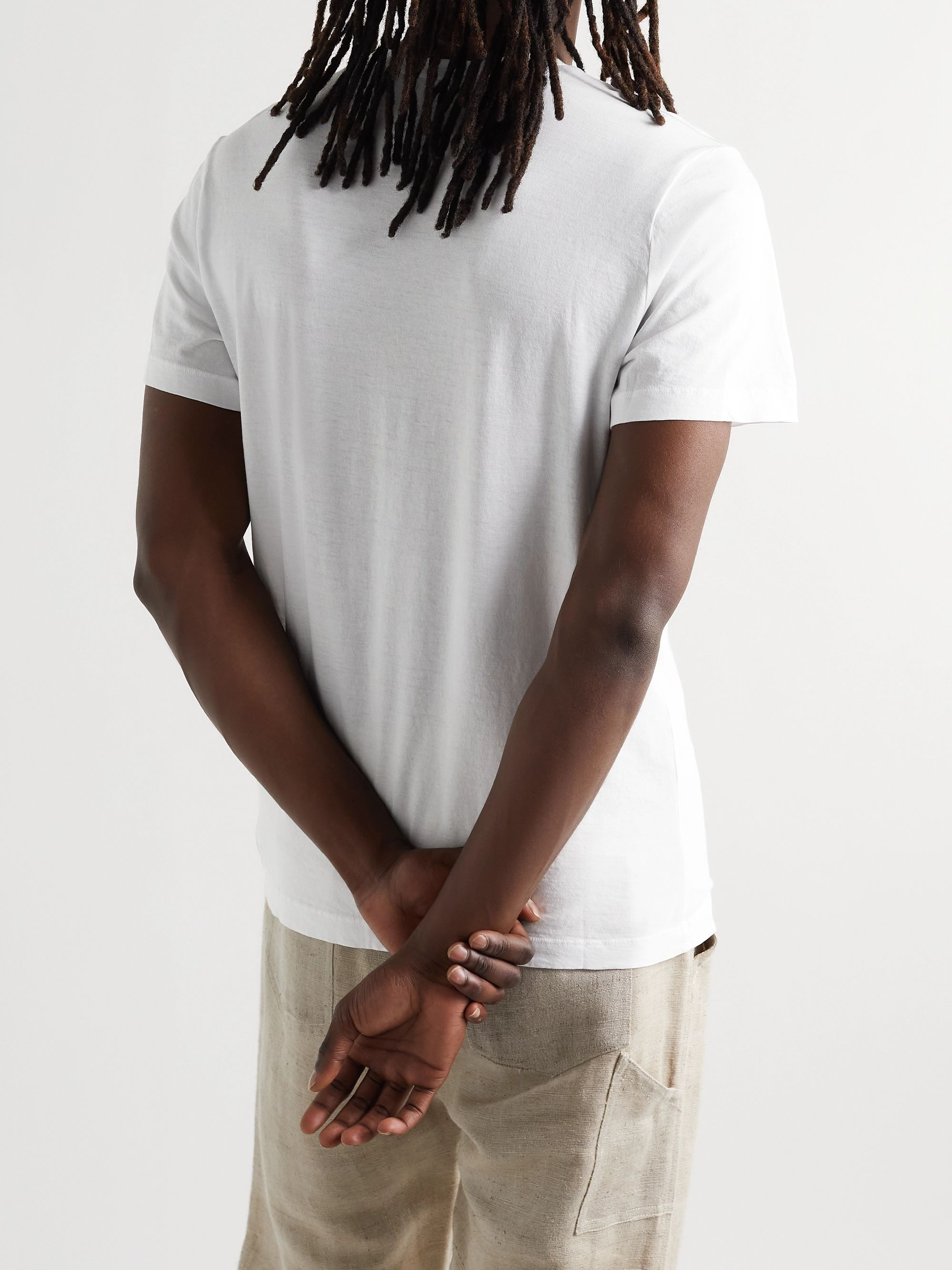 James Perse Combed Cotton Jersey T-Shirt