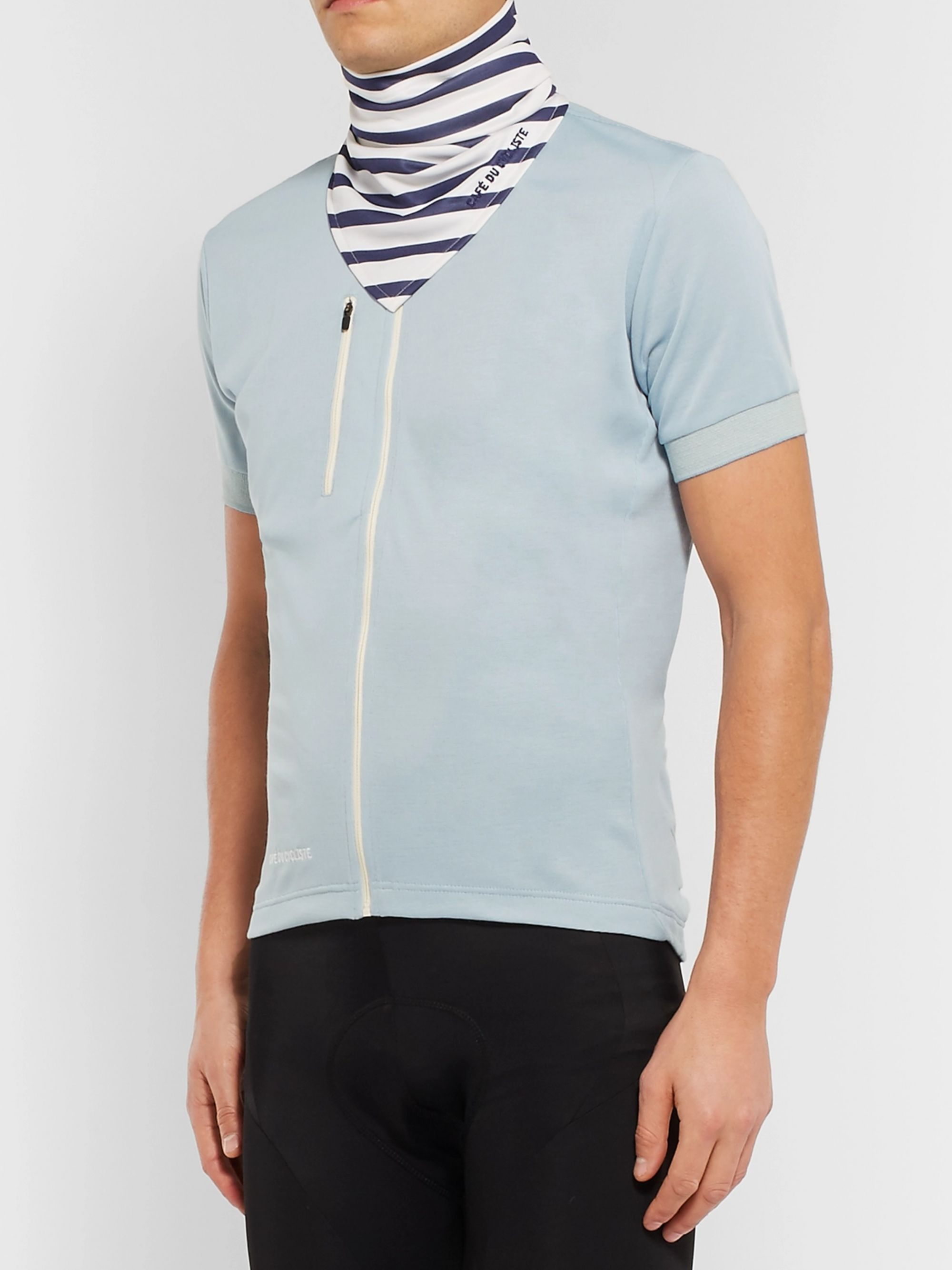 Cafe du Cycliste LouLou Striped Jersey Neck Warmer