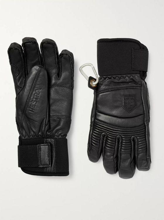 HESTRA Fall Line Padded Leather Ski Gloves