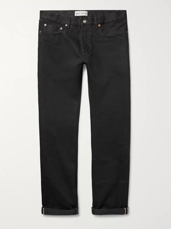 SALLE PRIVÉE Lewitt Slim-Fit Selvedge Denim Jeans