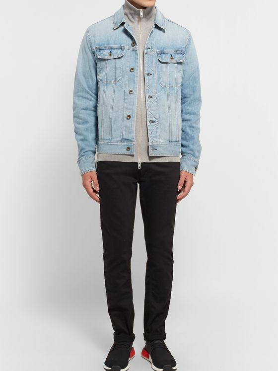rag & bone Faded Denim Jacket
