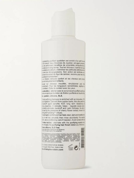 Christophe Robin Purifying Shampoo, 250ml