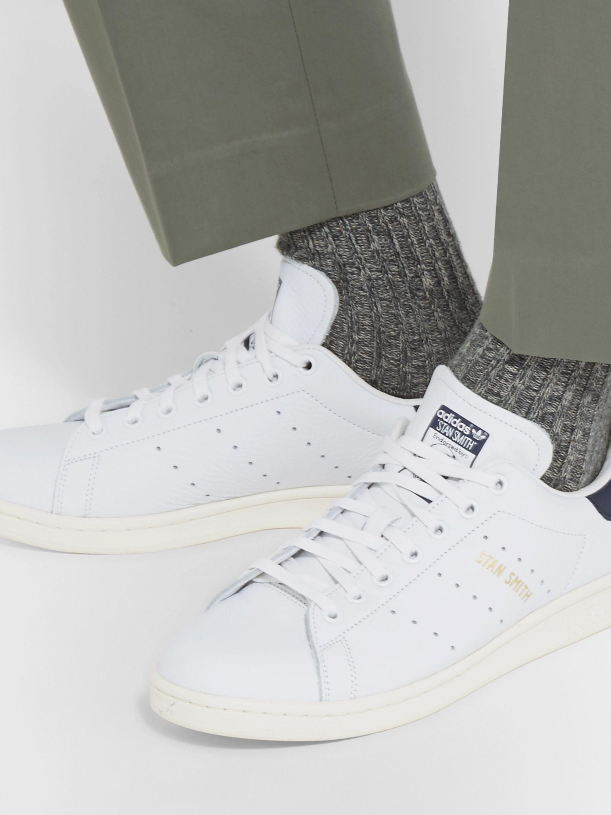White Stan Smith Nubuck Sneakers
