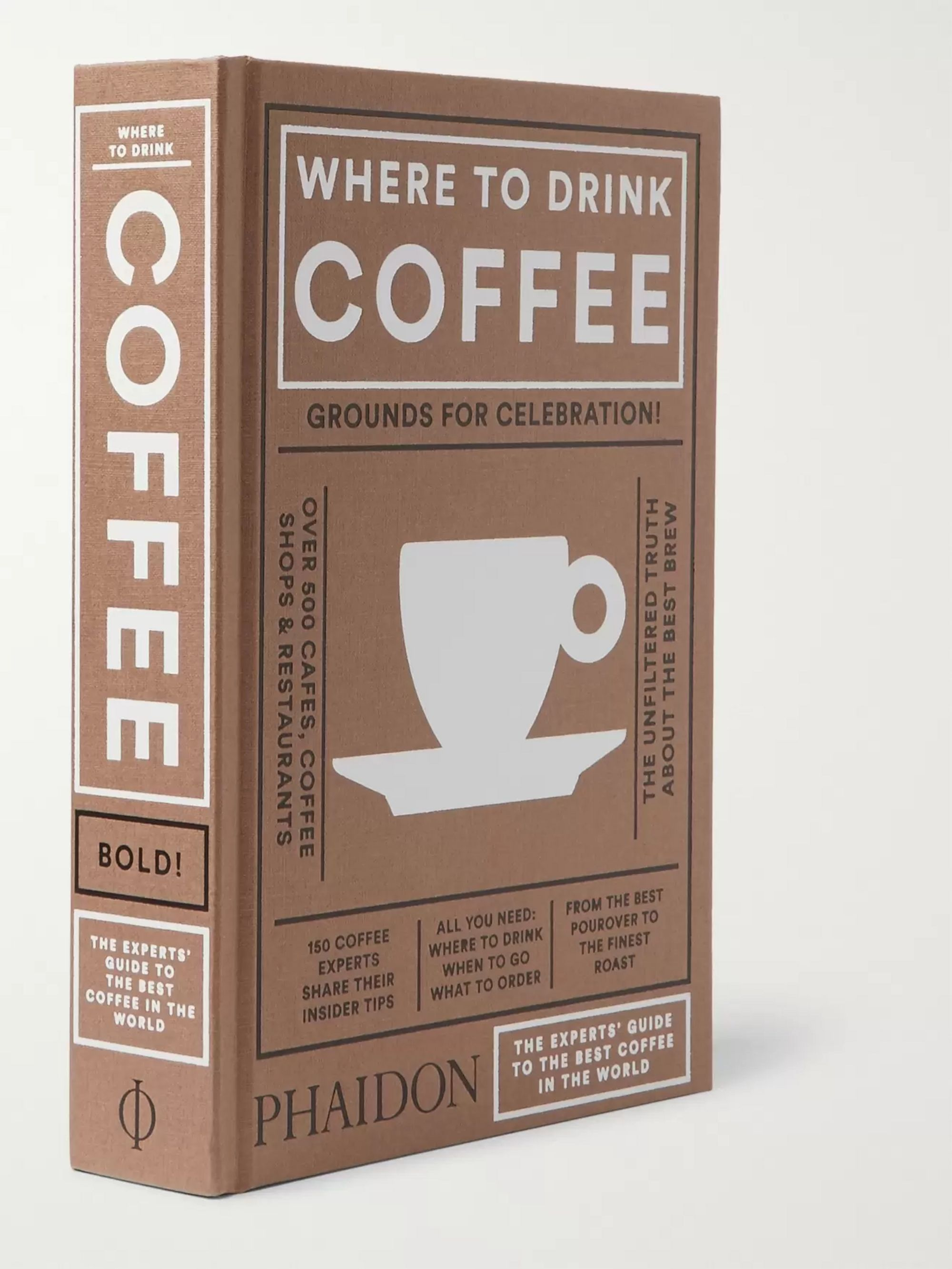 Phaidon Where To Drink Coffee Hardcover Book