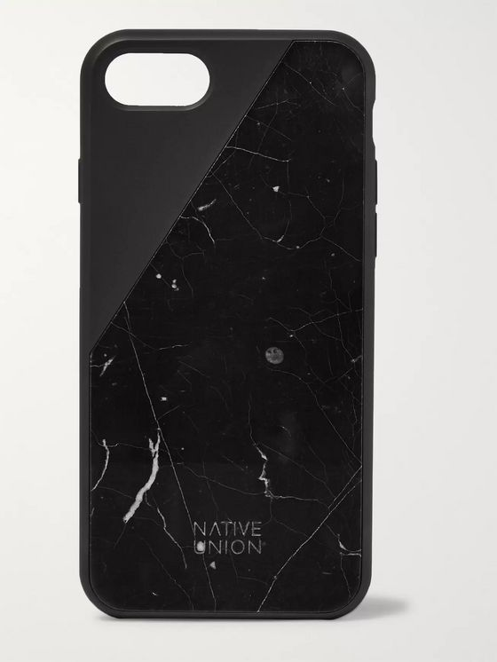 NATIVE UNION Clic Marble and Rubber iPhone 7/8 Case