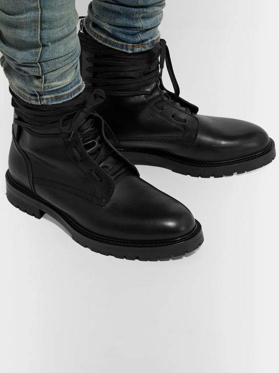 AMIRI Leather Boots