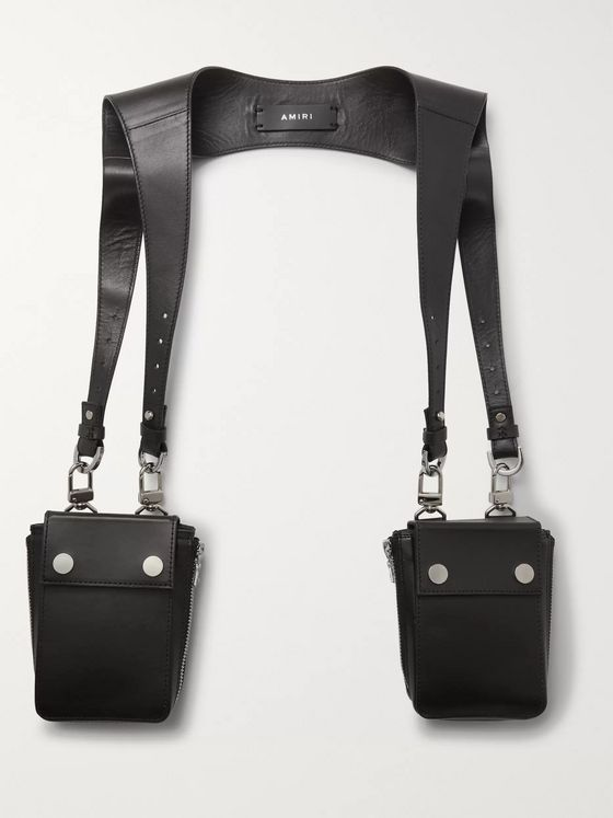 AMIRI Leather Harness Bags