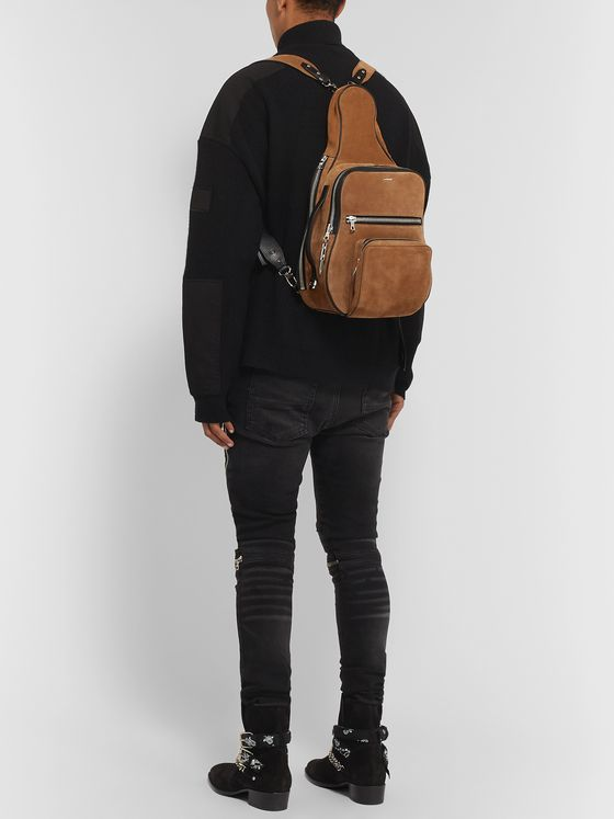 AMIRI Suede Backpack