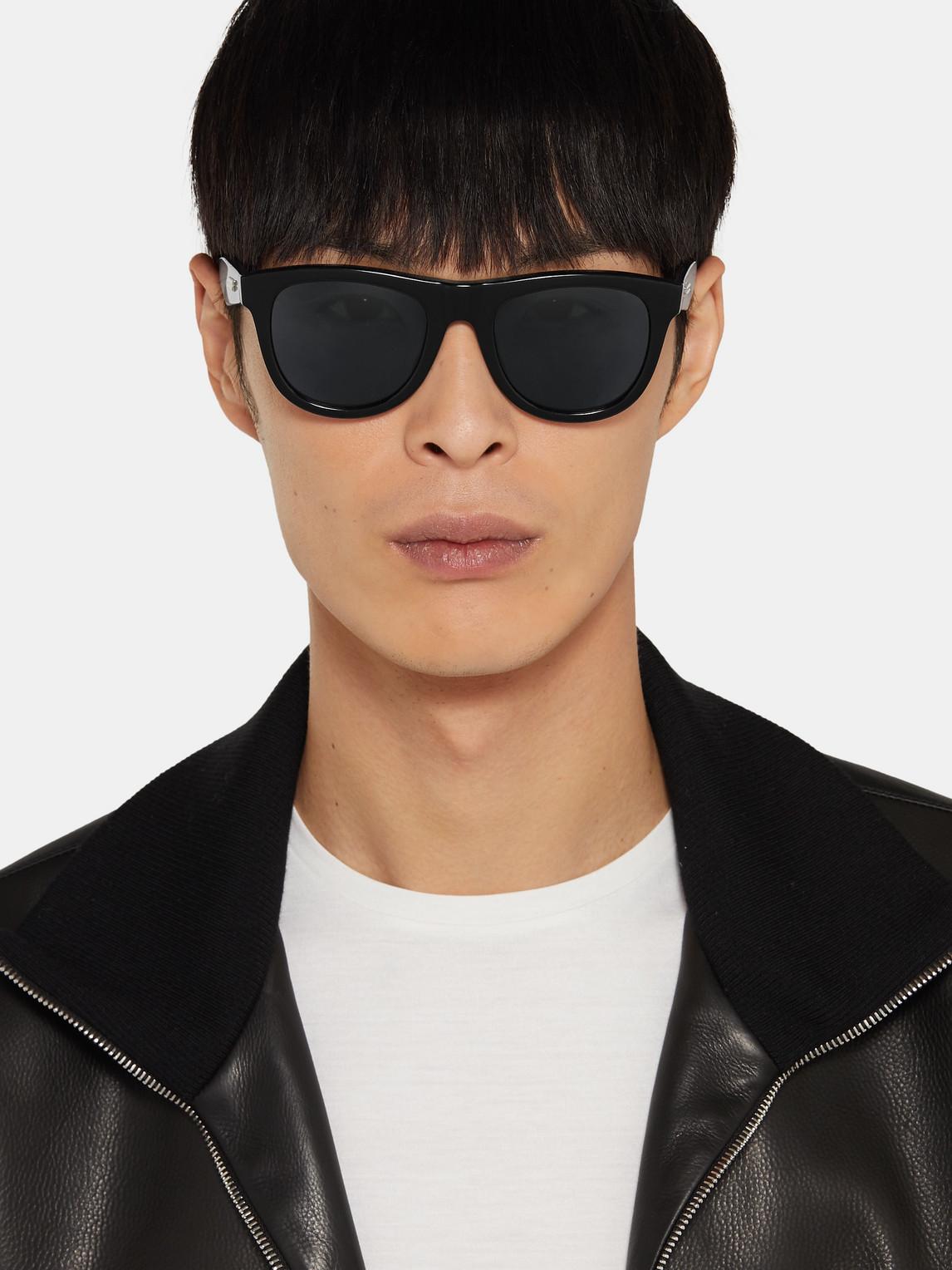 Bottega Veneta Sunglasses D-FRAME ACETATE SUNGLASSES