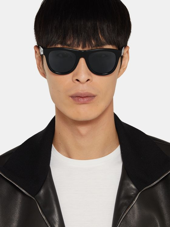 Bottega Veneta D-Frame Acetate Sunglasses