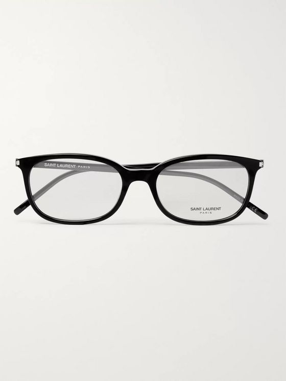 SAINT LAURENT D-Frame Acetate Optical Glasses