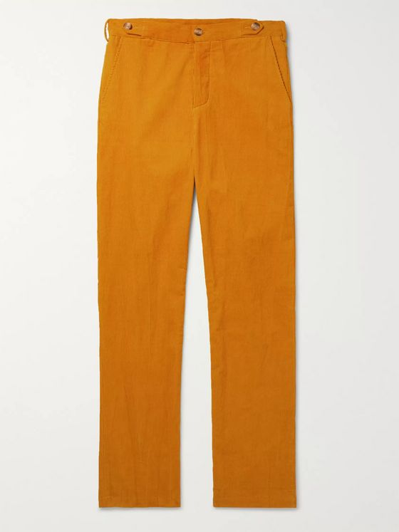 Tempus Now Cotton-Corduroy Trousers