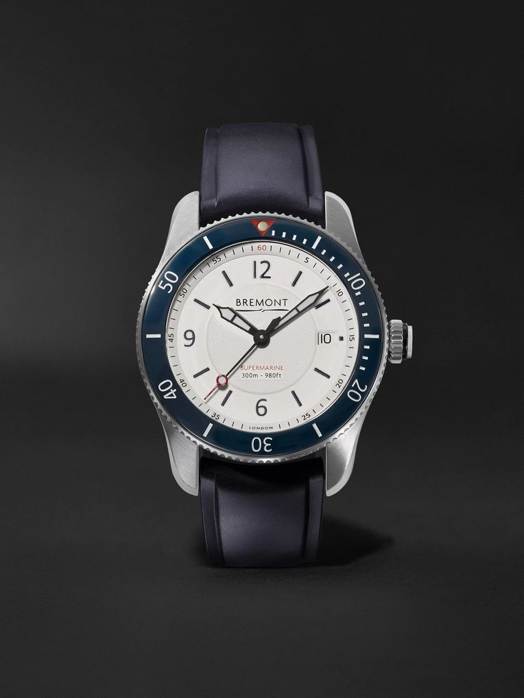 Bremont S300 Automatic Chronometer 40mm Stainless Steel and Rubber Watch