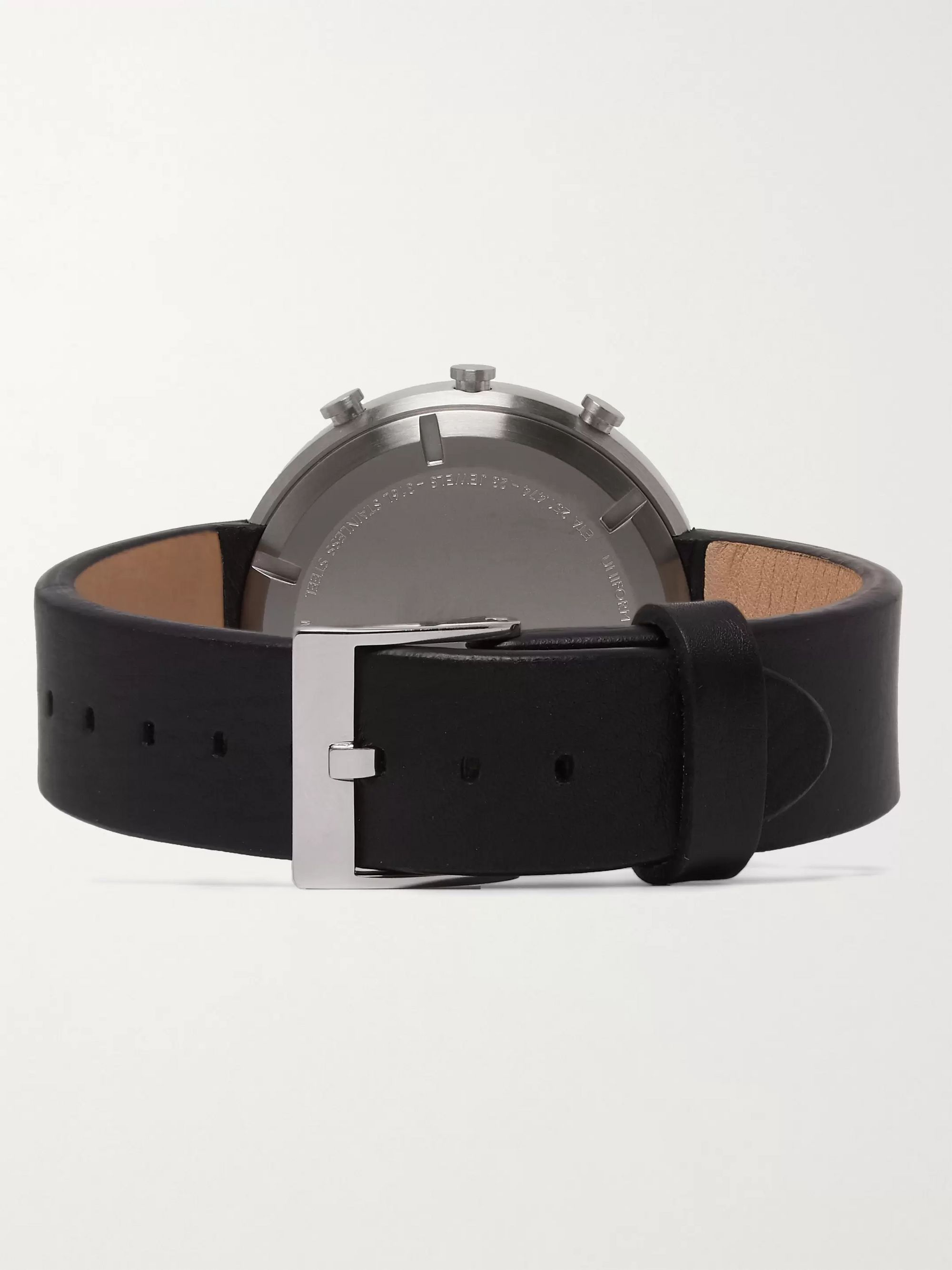 Uniform Wares M42 PreciDrive Stainless Steel And Leather Watch