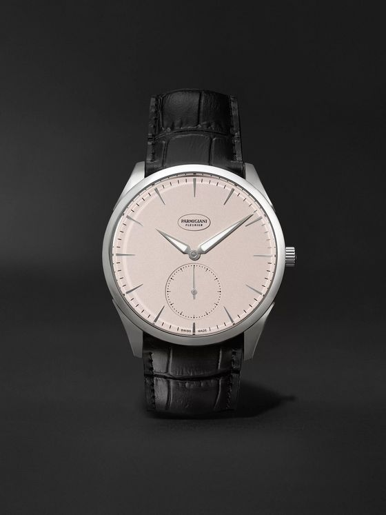 Parmigiani Fleurier Tonda 1950 Automatic 40mm Stainless Steel and Alligator Watch