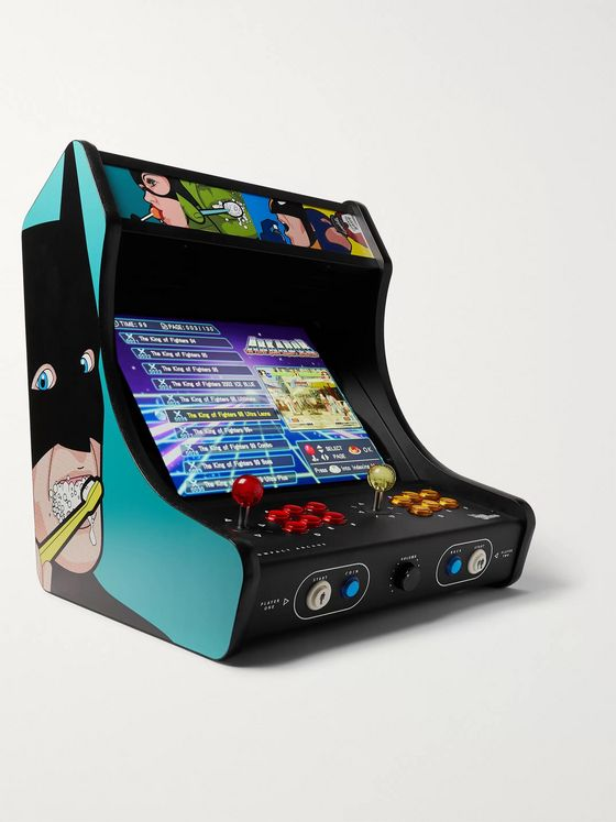 Neo Legend Bat Brush Compact Arcade Game