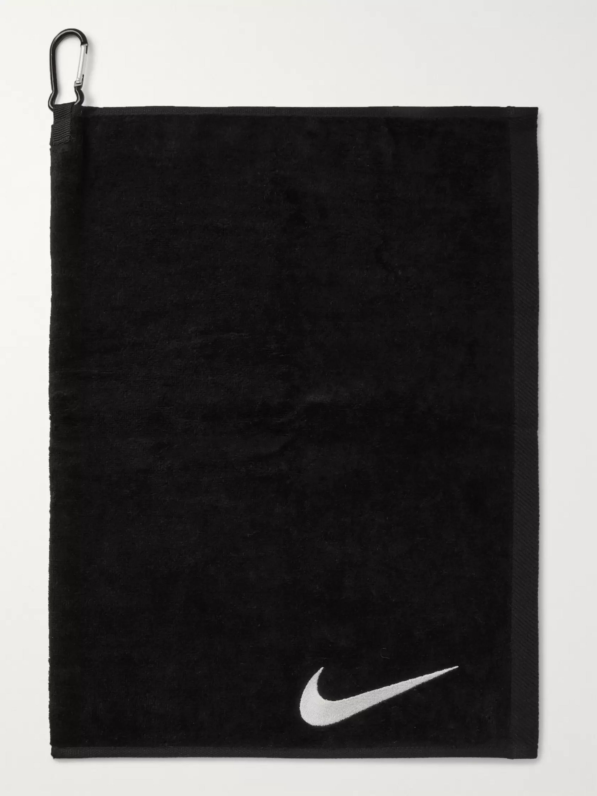 Nike Performance Logo-Embroidered Cotton-Terry Golf Towel