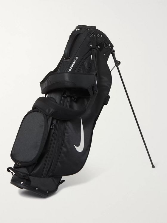 Nike Sport Lite Logo-Print Textured-Shell Golf Bag