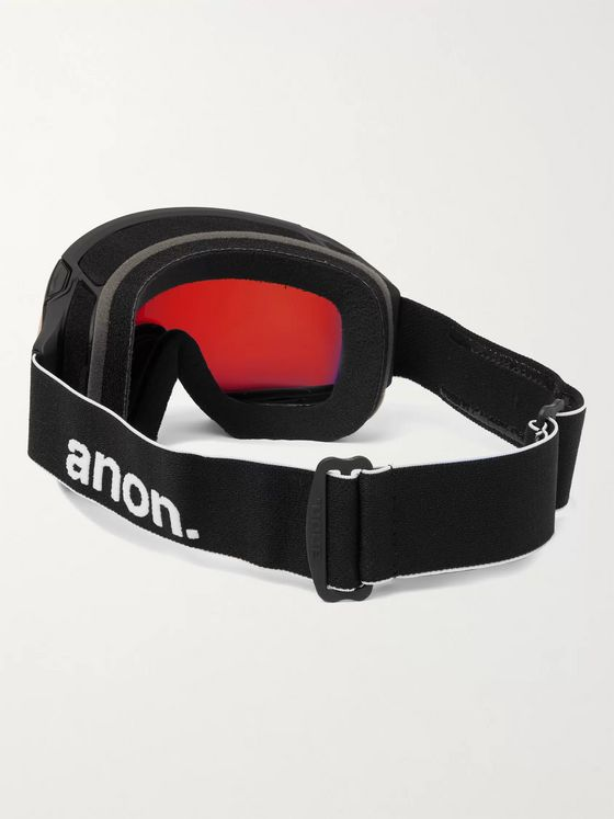 ANON M4 Ski Goggles and Stretch-Jersey Face Mask
