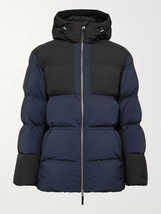 Aztech Mountain Durant Panelled Quilted Ripstop Hooded Down Ski Jacket