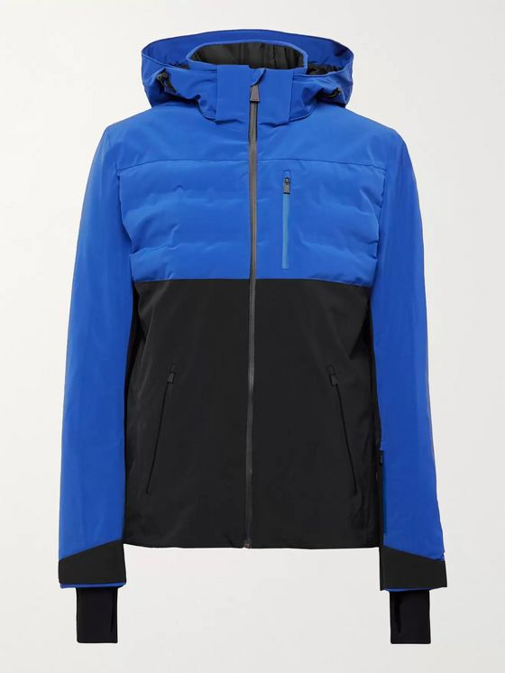Aztech Mountain Ajax Waterproof Colour-Block Padded Quilted Ski Jacket