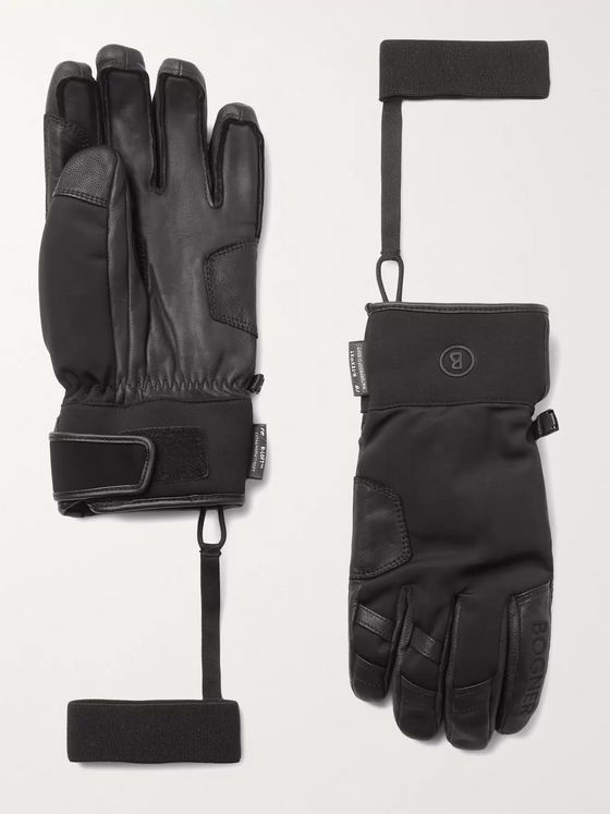 Bogner Pero Padded Leather Ski Gloves
