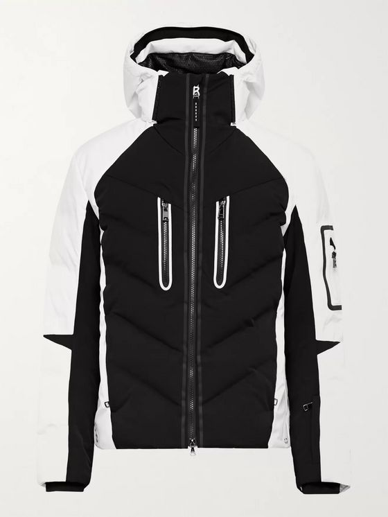 Bogner Felian Quilted Down Hooded Ski Jacket