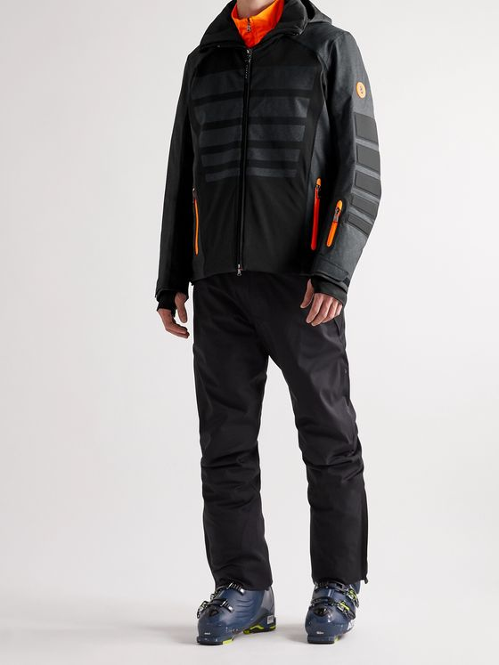 Bogner Buster Padded Textured Hooded Ski Jacket