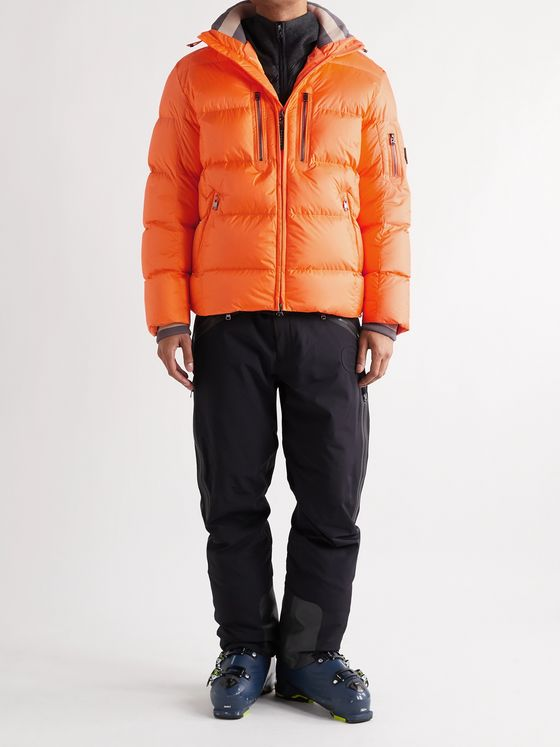 Bogner Gian-D Quilted Ripstop Down Hooded Ski Jacket