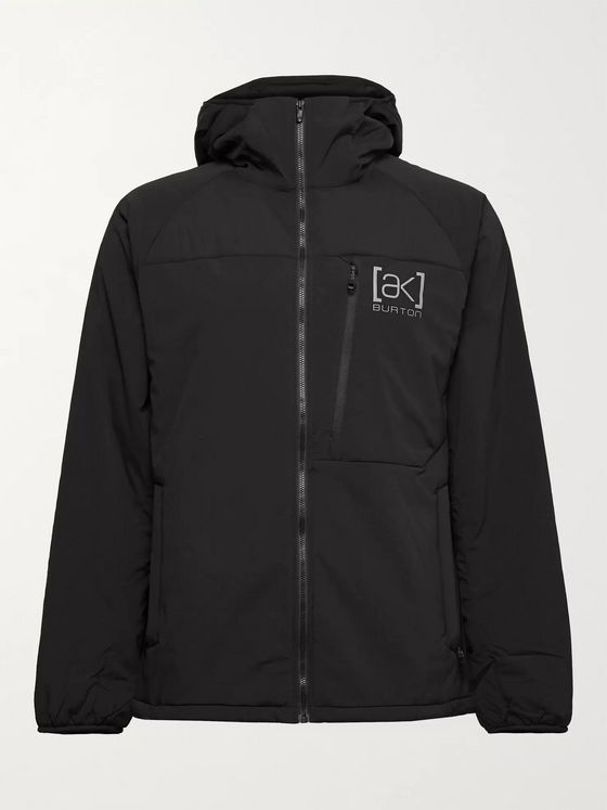Burton [ak] Helium Slim-Fit Padded Stretch-Nylon Hooded Ski Jacket