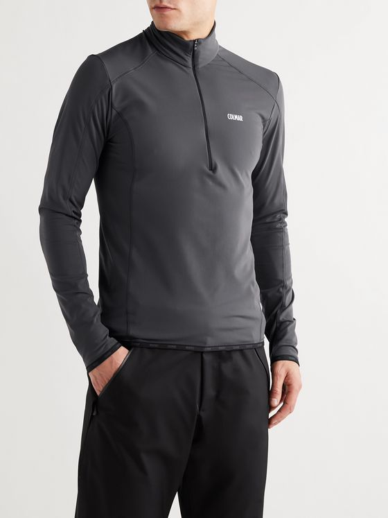 Colmar Slim-Fit Fleece-Back Thermotec Half-Zip Ski Base Layer