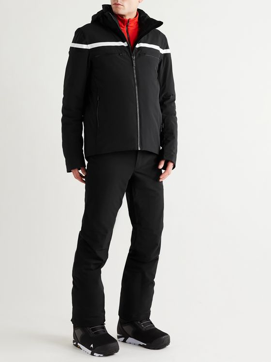 FUSALP Alfonse Two-Tone Padded Hooded Ski Jacket