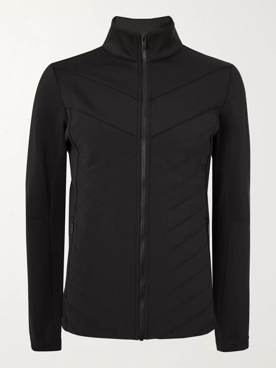 Fusalp Vidi II Quilted Padded Shell and Neoprene Jacket