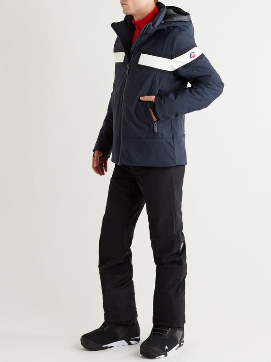 FUSALP Vianney Two-Tone Padded Hooded Ski Jacket