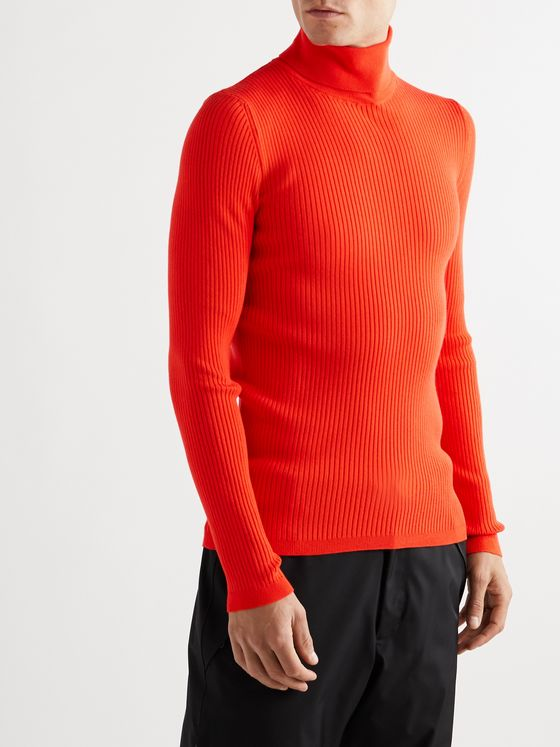 Fusalp Ceillac Ribbed-Knit Rollneck Ski Base Layer