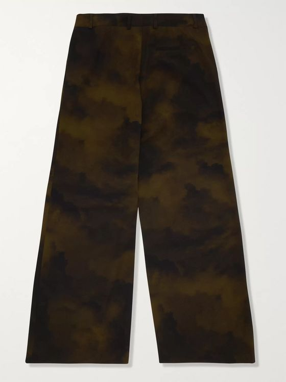A-COLD-WALL* Printed Seersucker Trousers