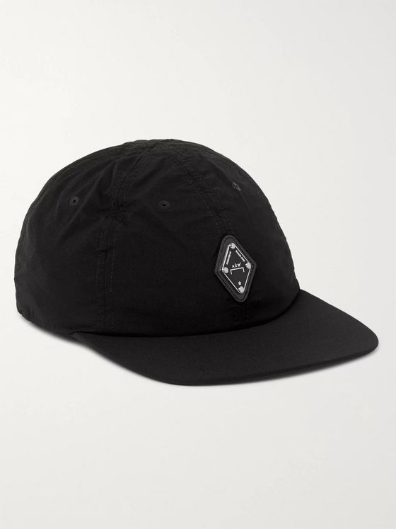 A-COLD-WALL* Logo-Appliquéd Perforated Shell Baseball Cap